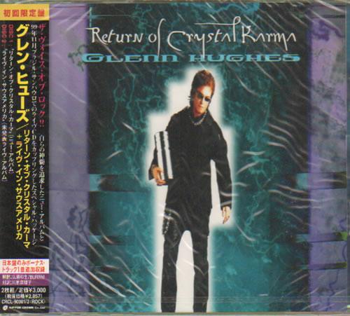 Glenn Hughes Return Of Crystal Karma Sealed 2000 Japanese 2 Cd Album Set Crcl 90001 2