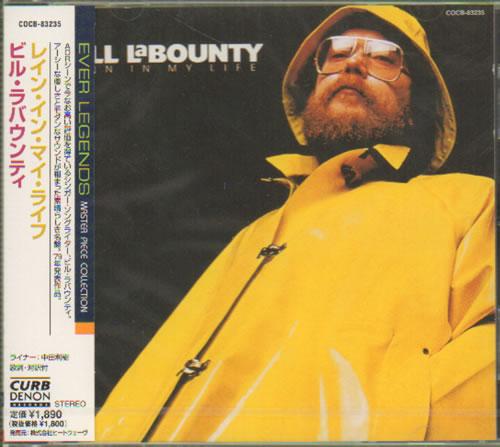 Bill Labounty Rain In My Life 2000 Japanese Cd Album Cocb 83235