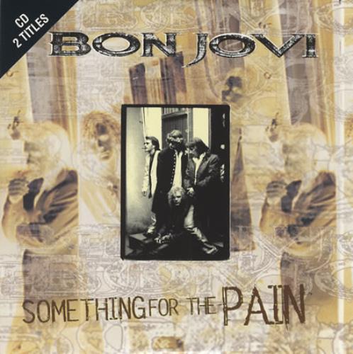 Bon Jovi Something For The Pain 1995 German Cd Single 852234 2