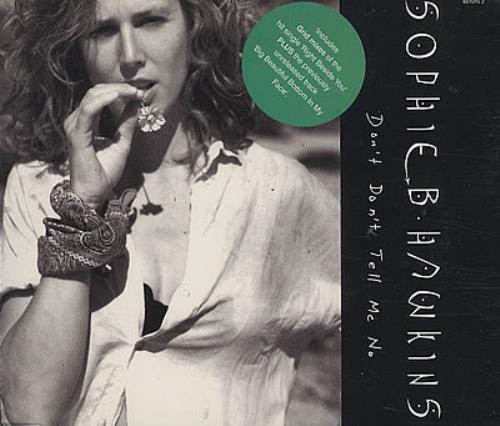 Sophie B Hawkins Dont Dont Tell Me No 1994 Austrian Cd Single 661015 2