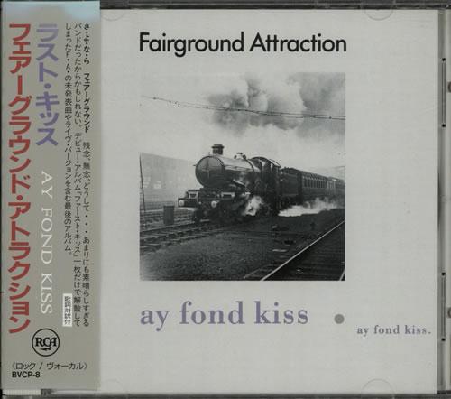 Fairground Attraction Ay Fond Kiss 1990 Japanese Cd Album Bvcp 8
