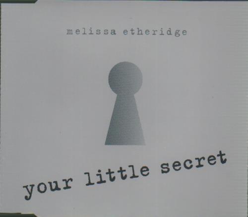 Melissa Etheridge Your Little Secret 1995 French Cd Single 854453 2