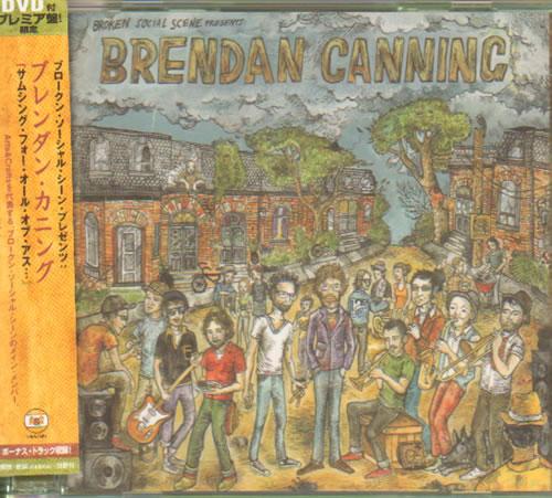 Broken Social Scene Something For All Of Us 2008 Japanese 2 Disc Cd Dvd Set Teci 28491