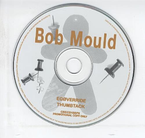 Bob Mould Egoveride 1996 Uk Cd Single Crecd188px