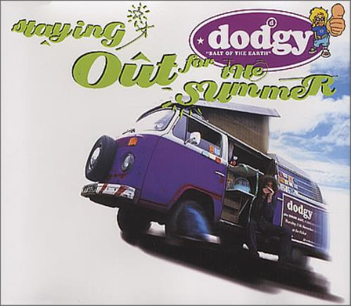 Dodgy Staying Out For The Summer 1995 German Cd Single 581087 2