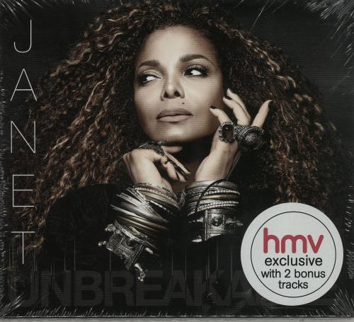 Janet Jackson Unbreakable Sealed 2015 Uk Cd Album 538164912