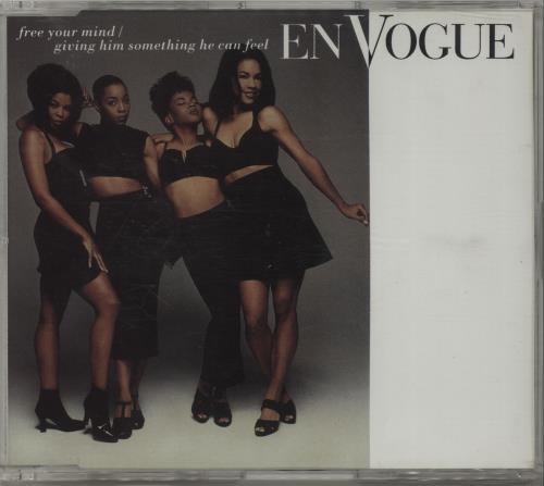 En Vogue Free Your Mind 1992 Uk Cd Single A8468cd