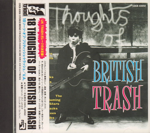 Click to view product details and reviews for Various Rock Metal 18 Thoughts Of British Trash 1998 Japanese Cd Album Cocb 83050.