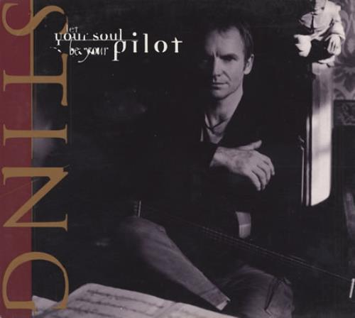 Sting Let Your Soul Be Your Pilot 1996 Usa Cd Single Amcdp00164