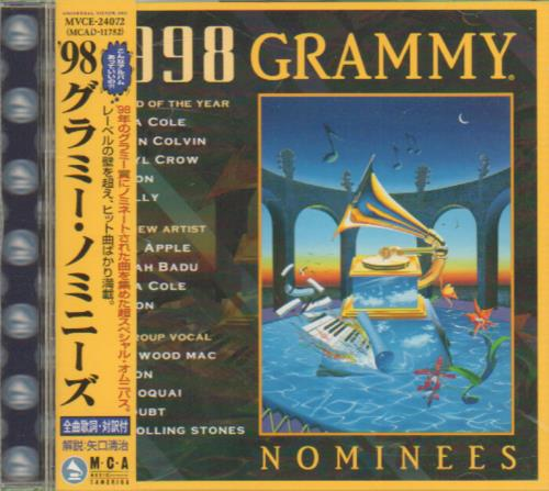 Click to view product details and reviews for Various Artists 1998 Grammy Nominees 1998 Japanese Cd Album Mvce 24072.