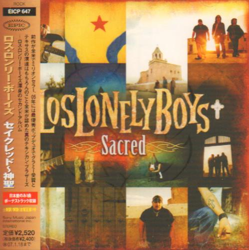 Click to view product details and reviews for Los Lonely Boys Sacred 2006 Japanese Cd Album Eicp 647.