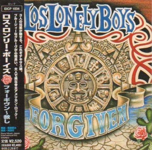 Click to view product details and reviews for Los Lonely Boys Forgiven 2008 Japanese Cd Album Eicp 1034.