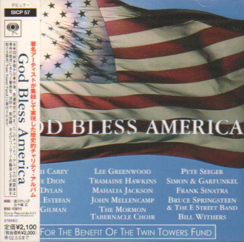 Click to view product details and reviews for Various Pop God Bless America 2001 Japanese Cd Album Sicp 57.