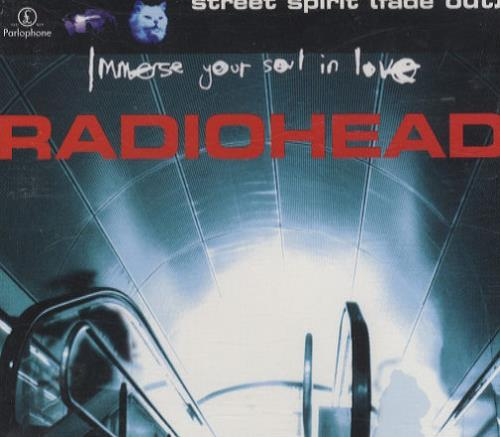 Radiohead Street Spirit 1996 Australian Cd Single 8826532