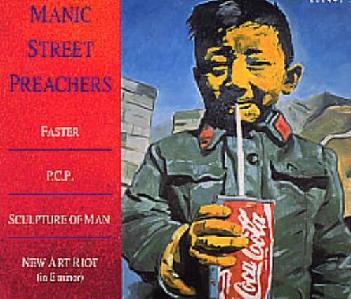 Manic Street Preachers Faster Pcp Digipak 1994 Uk Cd Single 6604472