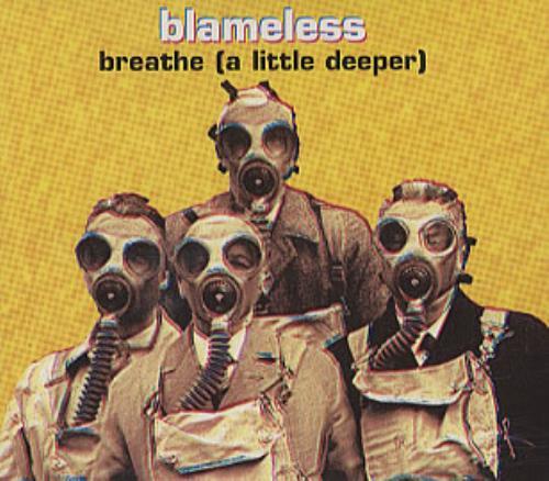 Blameless Breathe A Little Deeper Cd1 1996 Uk Cd Single Wokcd2070