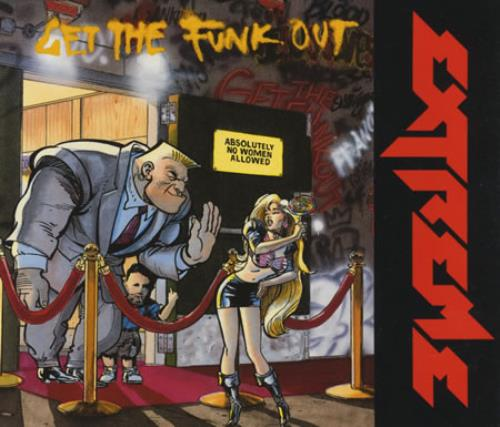 Extreme Get The Funk Out 1990 German Cd Single 390613 2