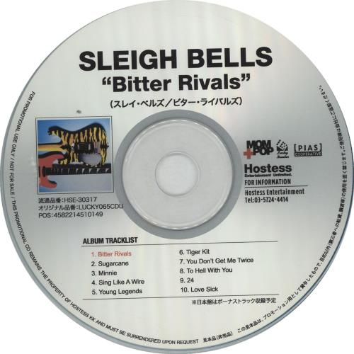 Click to view product details and reviews for Sleigh Bells Bitter Rivals Press Release 2013 Japanese Cd R Acetate Lucky065cdij.