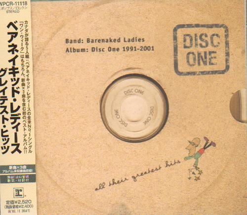 Click to view product details and reviews for Barenaked Ladies All Their Greatest Hits 1991 2001 2001 Japanese Cd Album Wpcr 11118.