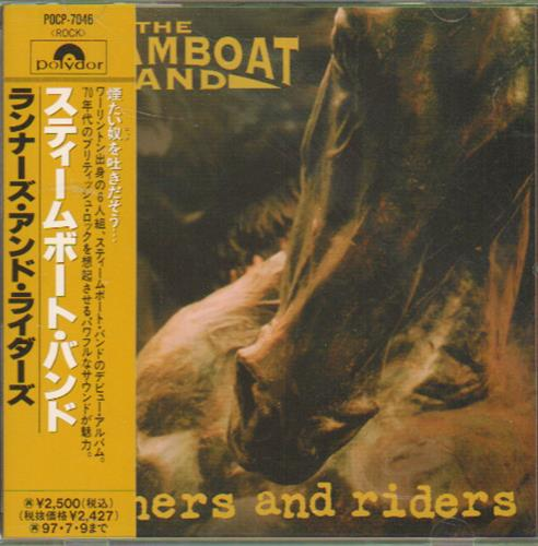 The Steamboat Band Runners And Riders 1995 Japanese Cd Album Pocp 7046
