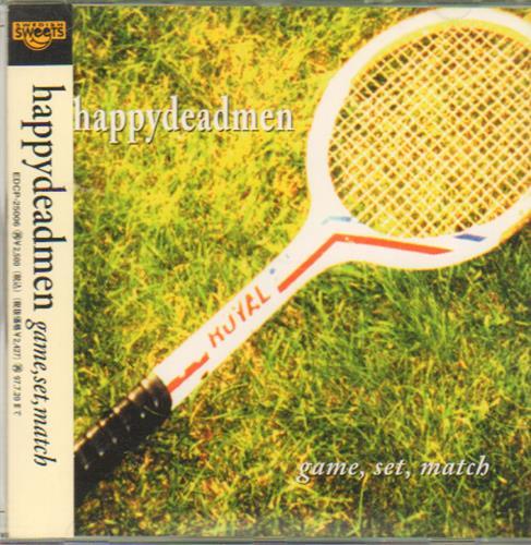 Happydeadmen Game Set Match 1995 Japanese Cd Album Edcp 25006