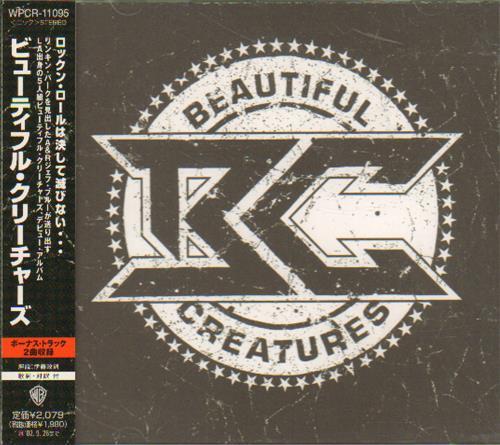Beautiful Creatures Beautiful Creatures 2001 Japanese Cd Album Wpcr 11096