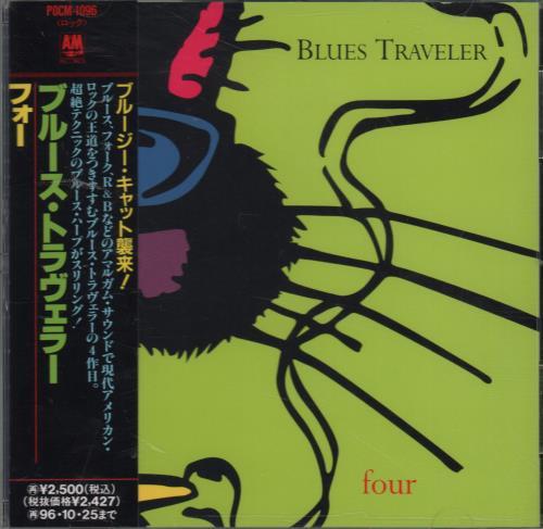 Blues Traveler Four 1994 Japanese Cd Album Pocm 1096