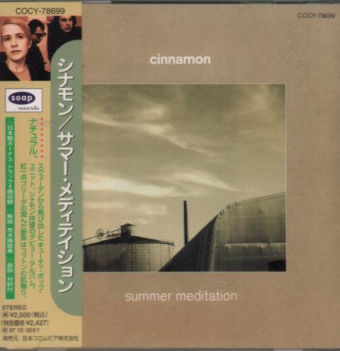 Click to view product details and reviews for Cinnamon Summer Meditation 1995 Japanese Cd Album Cocy 78699.