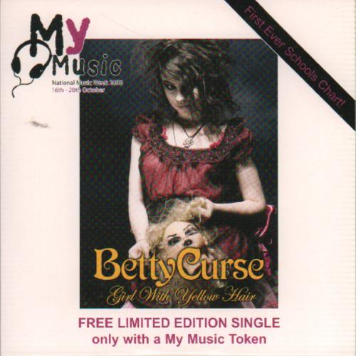 Click to view product details and reviews for Betty Curse Girl With Yellow Hair 2006 Uk Cd Single Mymusic06.