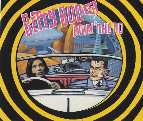 Betty Boo Doin The Doo 1990 Uk Cd Single Left39cd