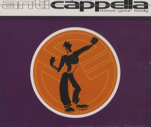 Anticapella Move Your Body 1994 Uk Cd Single Mcstd1980