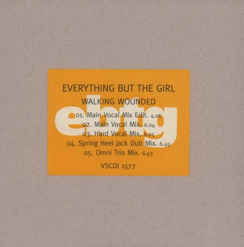 Click to view product details and reviews for Everything But The Girl Walking Wounded 1996 Uk Cd Single Vscdj1577.