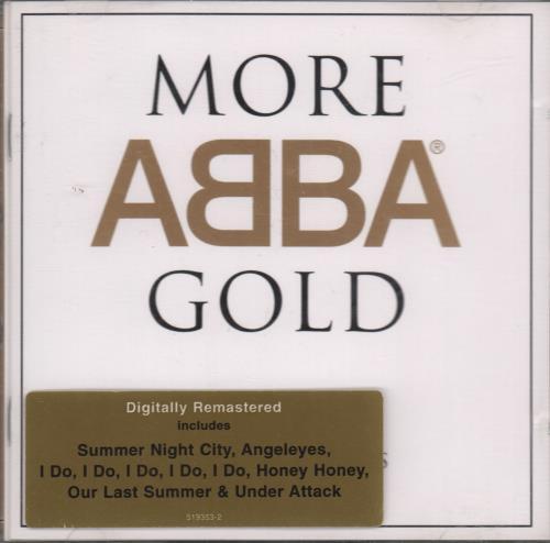 Resultado de imagen de cd more abba gold 1999