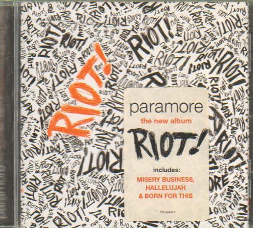 Paramore Riot Album - 0425