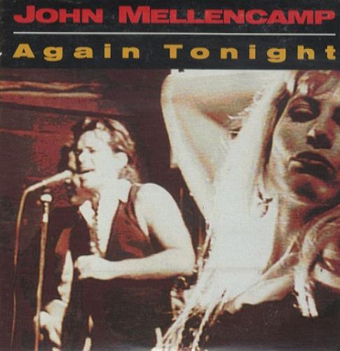 John Cougar Mellencamp Again Tonight 1991 Usa Cd Single Cdp616