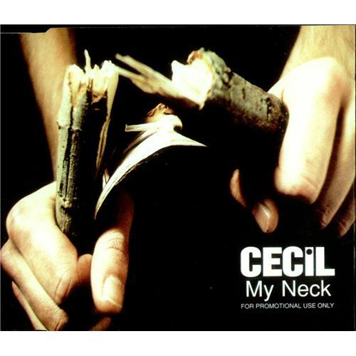 Cecil My Neck 1996 Uk Cd Single Cdrdj6427