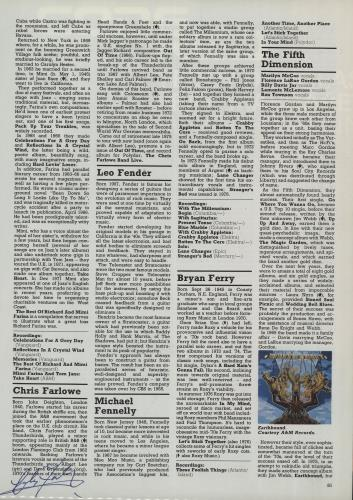 CHEAP Chris Farlowe Autographed Page of the NME Encyclopedia of Rock UK memorabilia AUTORGAPH 25209917009 – General Clothing