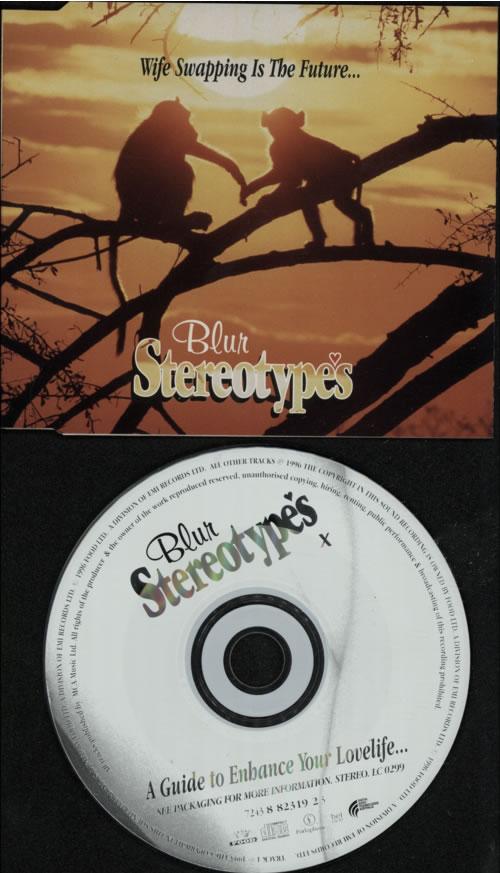 Blur Stereotypes 1996 Australian Cd Single 8823192