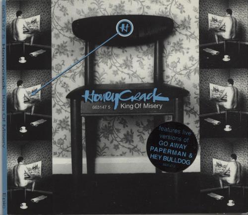 Honeycrack King Of Misery Digipak 1996 Uk Cd Single 6631475