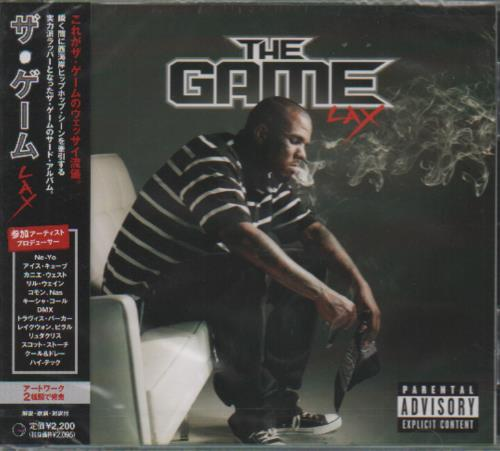 Click to view product details and reviews for The Game Rap Lax 2008 Japanese Cd Album Uicf 1101.