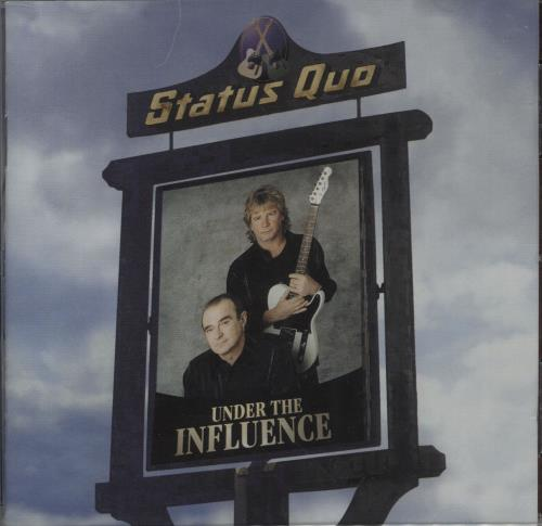 CHEAP Status Quo Under The Influence – Two T-Shirts & CD 1999 UK t-shirt 2 T-SHRTS & CD 25209919297 – General Clothing