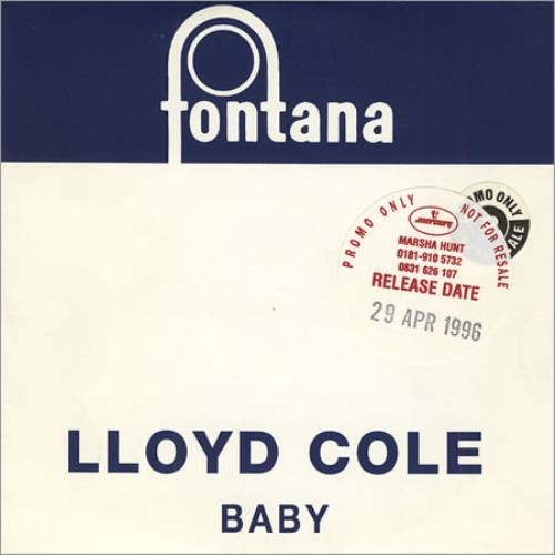 Lloyd Cole Baby 1995 Uk Cd Single Lccdj2