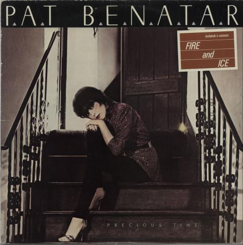 Pat Benatar Precious Time Records Lps Vinyl And Cds