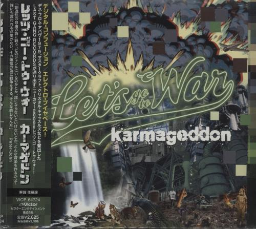 Click to view product details and reviews for Lets Go To War Karmageddon Obi Sealed 2010 Japanese Cd Album Vicp 64724.