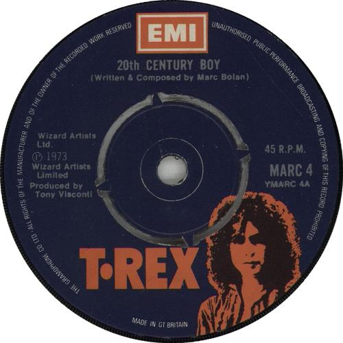 T-rex Records, LPs, Vinyl And CDs