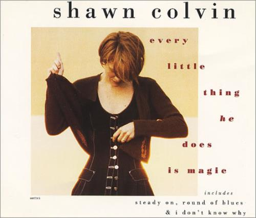 Shawn Colvin Every Little Thing He Does Is Magic 1994 Uk Cd Single 660774 5