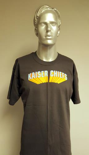 CHEAP Kaiser Chiefs 2007 Tour – Grey/Large 2007 UK t-shirt T-SHIRT 25209929325 – General Clothing