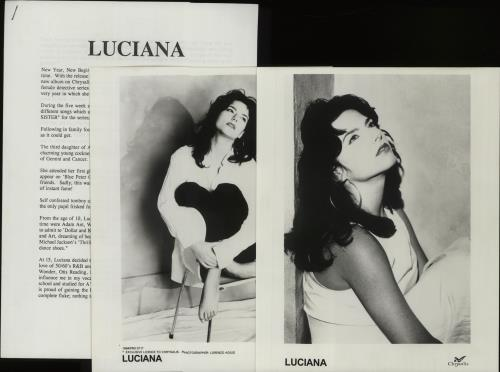 CHEAP Luciana Get It Up For Love 1994 UK press kit PRESS KIT 25209929367 – General Clothing