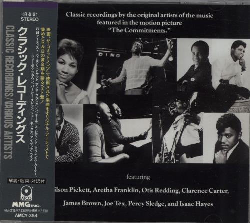 Click to view product details and reviews for The Commitments Classic Recordings 1991 Japanese Cd Album Amcy 354.
