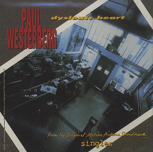 Paul Westerberg Dyslexic Heart 1992 Usa Cd Single Esk4479